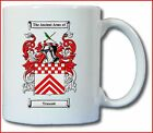 TRUSCOTT COAT OF ARMS COFFEE MUG