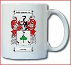SHARKEY COAT OF ARMS COFFEE MUG