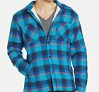 ~~NEW~~MENS QUIKSILVER WAKE UP BUTTON UP SHERPA FLANNEL MULTI COLOR