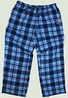 BOSTON RED SOX Plaid Flannel WOMEN's Lounge Pants with Embroidered B on Ebay