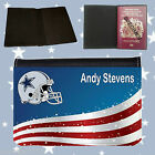 PASSPORT COVER - AMERICAN FOOTBALL TEAM- PERSONALISED FREE OF CHARGE