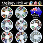 Nail Art Rhinestones Craft Gems studs decorations Bling Crystal diamantes