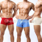 Super Smooth Men's Bulge Pouch Mini Bikini Shorts Underwear Thin Boxers Briefs