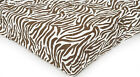 PAK N PLAY ON THE GO SIZE - Carter's - Brown Zebra QUILTED PLAYARD FITTED SHEET