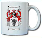 PASCOE COAT OF ARMS COFFEE MUG