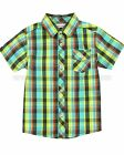 Deux par Deux Boys' Plaid Shirt Puff Doggy, Sizes 18M, 24M, 3, 4, 5, 6