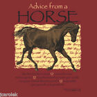 Advice From a Horse T-shirt Unisex S-M-L-XL-2XL New with Tags Equestrian Nature