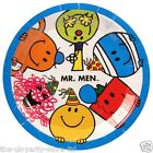 MR MEN Birthday Party Plates Cups Napkins Invites Balloons Banners Party Packs