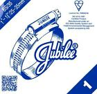 """SIZE 1 GENUINE JUBILEE HOSE CLIPS STEEL BZP  25MM TO 35MM - 1"""" TO 1.3/8"""""""