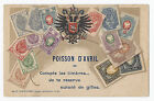 France Philatelic Ad Postcard April Fools Poisson D'Avril - Staerck - Undivided