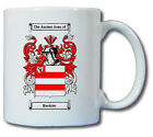 BARDSLEY COAT OF ARMS COFFEE MUG