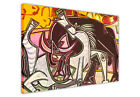 PABLO PICASSO HORSES SPANISH BULL CANVAS WALL ART PRINTS IMAGES PICTURES MODERN