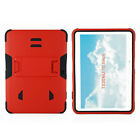 For Samsung Galaxy Tablet 4 10.1 inch Rugged impact Armor Hybrid Kickstand Case