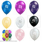 Balloons 21st Choose Colour Qualatex 28cm x 10 Party Decorations