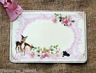 Hang Tags  PINK DEER CANDLE CHRISTMAS TAGS or MAGNET #550  Gift Tags