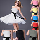 fast New Homecoming Short Ball Gown Formal Wedding Party Evening Prom Mini Dress