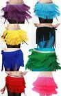 Brand New Belly Dance Tassels Fringes Hip Scarf Belt 9 Colors Free Shipping