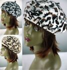 Women's Ladies Girl's Warm Fur Animal Print Angora Beret Hat Headwear Clothing