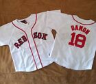 NWT NEW MLB JOHNNY DAMON BOSTON RED SOX BABY TODDLER JERSEY SHIRT 2T 3T 4