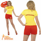 Womens Baywatch Costume Lifeguard Fancy Dress Costume Ladies Hen Party UK 8 - 18