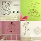 Whinnie The Pooh Wall Stickers! Toddler Bedroom, Nursery cartoon art decal cute