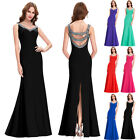 Sexy Stunning Mermaid Prom Wedding Cocktail Evening Gown Long Bridesmaid Dresses