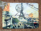 Hang Tags  VINTAGE PARIS EIFFEL TOWER  POSTCARD TAGS or MAGNET #701  Gift Tags