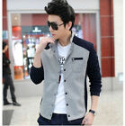 2014 Spring Men's New Casual Jackets Slim Male thin coat  Fashion  J84