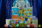 Winnie The Pooh Party Set # 14 Pooh Party Supplies For 8 with Cake Toppers