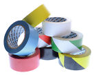 HAZARD AND FLOOR MARKING TAPE LANE VINYL 50MM X 33M MANY COLOURS AVAILABLE