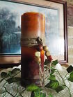 """TRIPLE LAYER 3x9"""" PILLAR CANDLE-HIGHLY SCENTED-U PICK COLORS  FRAGRANCE"""