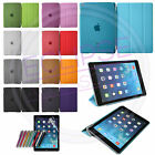 Ultra Thin Magnetic Smart Stand Cover + Back Case for iPad Air 5 Sleep/Wake
