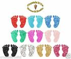25mm Baby Hands & Feet Gliter Stickers perfect card making stickers supplies
