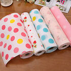 Buy 2 Get 1 Cute Polka Dots Rose Strawberry Shelf Paper Drawer Liner 300x30cm