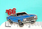 1966  66  Chevrolet  Chevelle SS  convertible - hat pin , tie tac , lapel pin