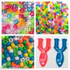 Loom band accessories charms c clips mini tool beads