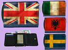 DENIM PURSE WITH COUNTRY FLAG - CAN BE PERSONALISED FREE OF CHARGE SECRET SANTA
