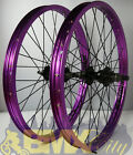 "BMX WHEELS: 20"" Pair 9 tooth micro drive Alienation PBR Rims"
