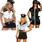 DÉGUISEMENT TENUE ROBE POLICIÈRE POLICE SEXY COSTUME HALLOWEEN CARNAVAL