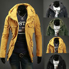 NEW Men's Slim Fit Sexy Top Designed Stylish Jackets Coats Tops 4 Colors