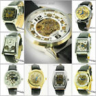 UY29 Automatic Mechanical Movement Luxury Transparent Skeleton Quality Watch