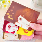 Korean Girl Lovely Business ID Credit Card Wallet Holder Pocket Bag Case New
