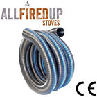 Flue Liner Flexible 4 Wood Burning Stoves 316 Stainless Steel Multi Fuel