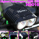 HD016 New XM-L2 X2 Cree LED Bike Lights Bicycle Light Front Set Headlight Lamp