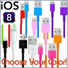 1M 2M 3M Round Data Sync Charging USB Cable for iPhone 5 5S 6 6S 7 Plus iPod