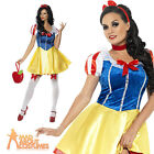 Sexy Snow White Costume Fever Fairy Tale Ladies Fancy Dress Outfit 4 - 14 New