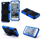 Blue HEAVY DUTY TOUGH SHOCKPROOF WITH STAND HARD CASE COVER FOR iPhone5C TZJB