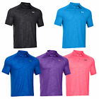 2014 UNDER ARMOUR MENS COLDBACK EMBOSSED PLAYER POLO SHIRT - BRAND NEW GOLF TOP