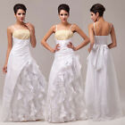 ❤Clearance❤Womens Luxury Sequins Formal Party Ball Gown Wedding Bridesmaid Dress