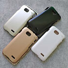 New Metallic Rubberized hard case cover for LG Optimus L90